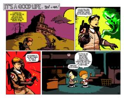 It's a Good Life 10.11.10 by ninjaink