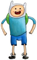Finn the Humannn by chickenmobile