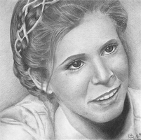 Princess Leia by steel--blue