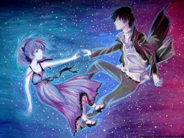 Yin and Hei/Darker than Black by EvanRank