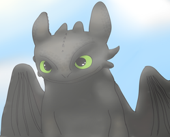 Toothless (Collab) by MizaT11