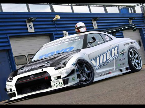 Nissan Skyline GTR Time Attack by AntVR6