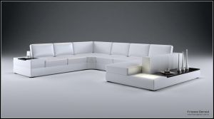 3D Big Sofa Design - 01 by FEG