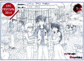 CFC indonesia contest : together at the zoo by AsukaShin10