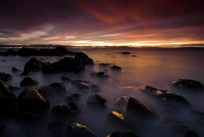Sunrise Seascape by alexwise