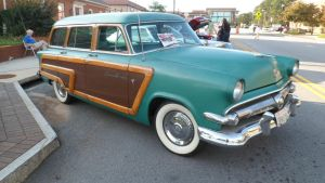 '54 Ford Country Squire Woodie by hankypanky68