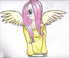 MLP:FiM: Fluttershy Deponified by Yo-yo-girl12