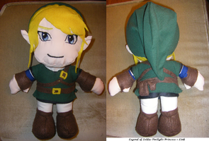 Twilight Princess Link Plushie by Dead-Beliefs