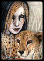 ACEO -- Stealth by ElvenstarArt