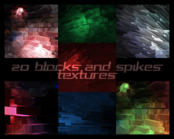 20 blocks and spikes textures by sudynlj