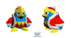 King DeDeDe W.I.P. by billybob884