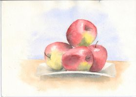 Apples - Study by RobinAhlstrom