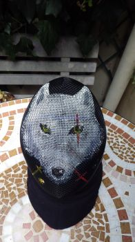 Fencing mask by Lou-Diamant