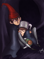 Over the garden wall by Say-Erizabesu