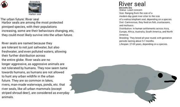 Urban future - River seal by dylan613