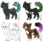 Cat Adoptables: Closed by Jinx-Adopts