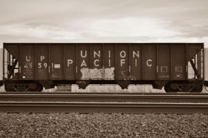 Union Pacific Car by darkwolf95