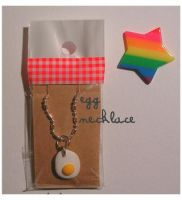 fimo egg necklace by yen-hm
