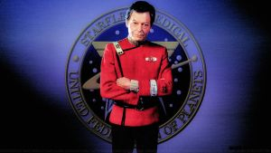 DeForest Kelley Dr. McCoy XIII by Dave-Daring