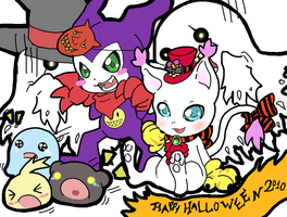 Happy DigiHalloween by Kappei101