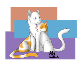 Request: Cloudtail and Brightheart by x6tr2ni