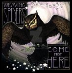 Weaving Spiders Come Not Here by Lyekka