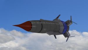 Thunderbird 1 Close Up by PUFFINSTUDIOS