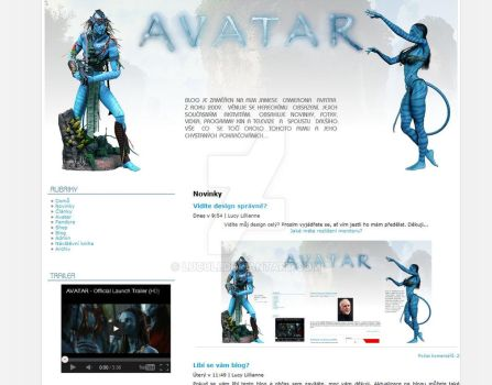 Avatar layout v10 by luculi