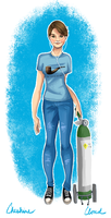 Hazel Grace Lancaster by CheshireCloud