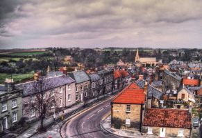 Warkworth village, UK by PaulWeber