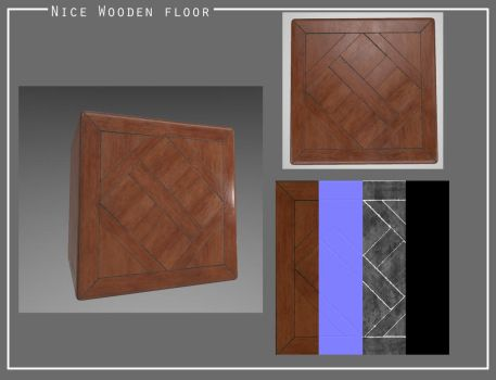 Nice wooden floor by Nat-the-witch