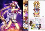 Sailor Moon: Through the Years by furesiya