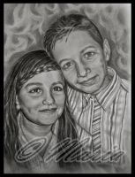 Brother and sister by mariaanghel