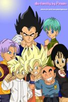 The dbz familly by picoom