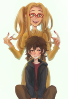honey and hiro by hiraco