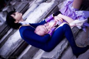 CODE GEASS: Lelouch and EUPHIE by KoujiAlone
