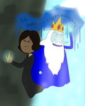 AT: Simon and Ice King by DJdannie4610