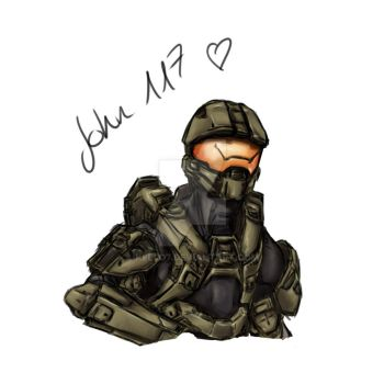 Master Chief by Kello7