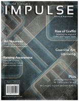IMPULSE Magazine Front Cover by SeeMooreDesigns