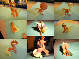 Applejack 2 Papercraft Photos by Rettro