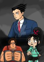 WIR-PW Crossover - Top Shelf Turnabout by Kenichi-Shinigami