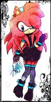 Arya The Hedgehog NEW OUTFIT. by AryTheHedgehog29