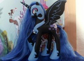 Nightmare Moon - custom Made by CelestPapermoon