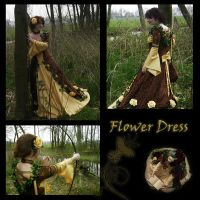 Flower Dress - 2006 by e-Sidera