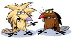 Angry Beavers by rongs1234