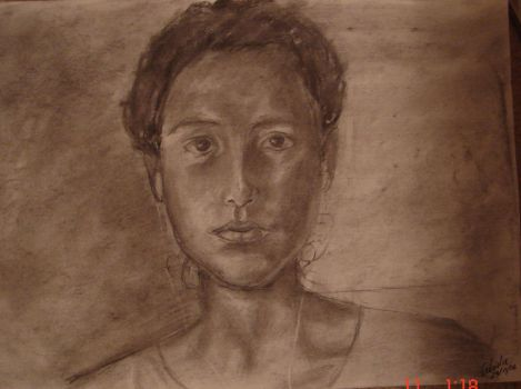 Self Portrait by Faye1891