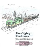 The Flying Scotsman by kanyiko