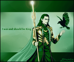 King Loki by MellorianJ