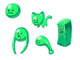 Goo Alien Lime concept by rongs1234