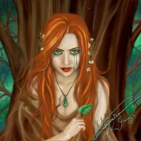 Weeping Dryad by adorna